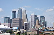Minneapolis Skyline from the West Bank