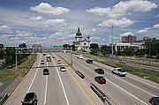 Interstate 94 at Loring Park in Minneapolis