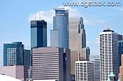 Minneapolis Skyline Close-Up