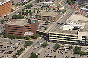 Star Tribune Buildings from Overhead