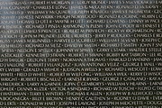 Vietnam Veteran's Memorial (Close-Up)