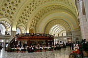 Lobby of Union Station, Washington DC
