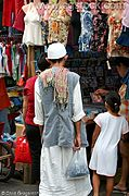 Vendors and Muslim Shopper, Pampanga, the Philippines