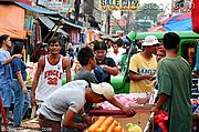 Street Market in Angeles City, Philippines