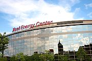 Xcel Energy Center, Dowtown St. Paul, MN