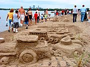 Sand Sculptures, Lake Calhoun, Minneapolis