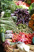 Fresh Produce, Laoag Public Market, The Philippines