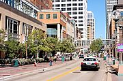 Nicollet Mall Between 10th and 9th Street