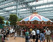 Americana Carousel at Camp Snoopy