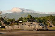 US Marine HH-60 Pave Hawk, Clark Air Base, the Philippines