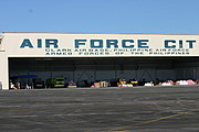Air Force City Hangar with Relief Supplies, Philippines