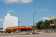 McDonald's Restaurant on North Knowles Avenue, New Richmond