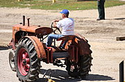 Old Tractor at the Tractor Pull