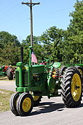 Old John Deere Tractor, New Richmond
