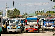 Jeepneys Parked in Angeles City