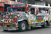Colorful Jeepney in Angeles City