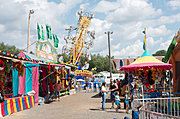 Rides at the St. Croix County Fair