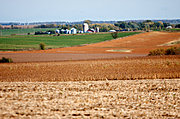 Corn Fields and Farm, St. Croix County