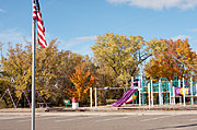 Mary Park Playground in Fall