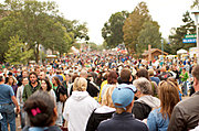 Crowd at the 2009 State Fair