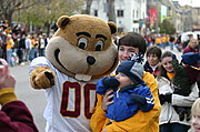 Goldy the Gopher, U of M Homecoming Parade