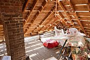 Attic During Re-Roofing