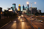 Minneapolis Skyline from Franklin Avenue