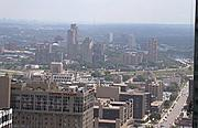 The West Bank from Downtown Minneapolis