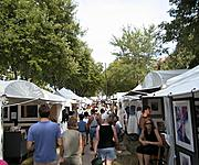 The Mall During the Uptown Art Fair