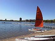 Sailboat on the Shore of Lake Calhoun