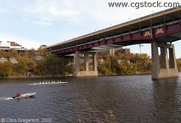 Crew Team and the Washington Avenue Bridge