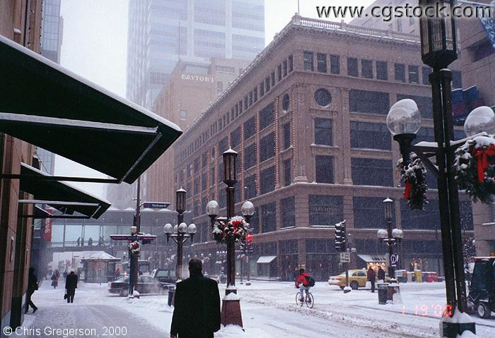 Cgstock Com Thumbnails Of Nicollet Mall In Downtown