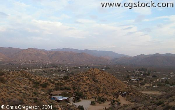 View of Morongo Valley