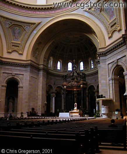 Interior of the Cathedral of St. Paul