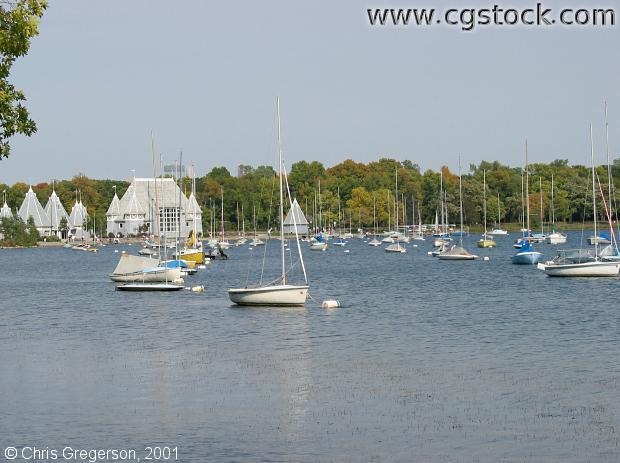 Lake Harriet Sailboats and Bandshell