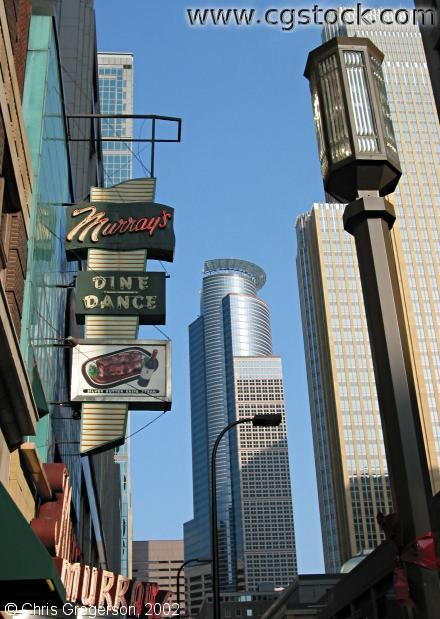 Murray's Marquee and Skyscrapers