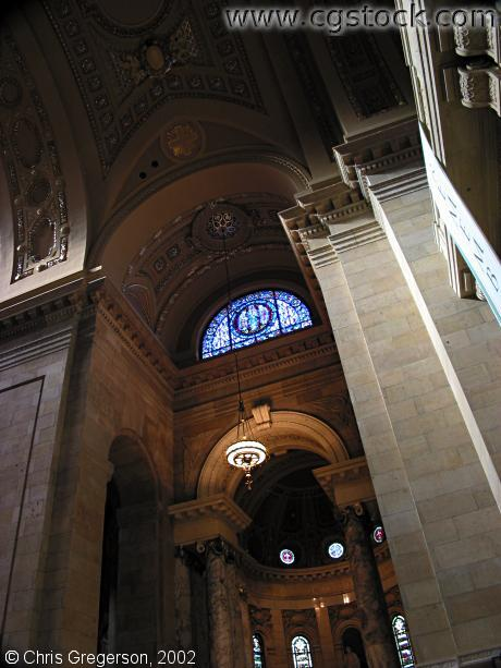 Archways Inside the Cathedral of St.Paul