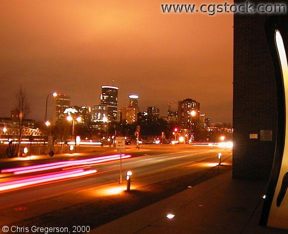 Minneapolis Skyline from the Walker Art Center(Night)