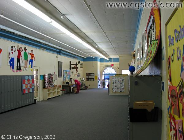 Hallway Inside the Pratt Community Education Center