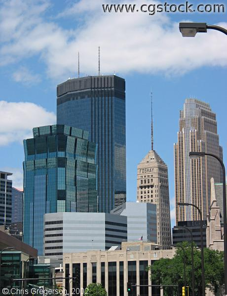 Downtown Minneapolis Skyscrapers