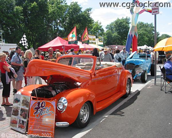 Orange Ford, Art of Classic Cars Show