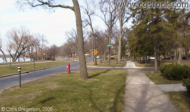 West Lake Harriet Parkway by Morgan Avenue