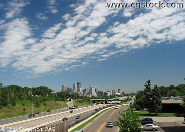 I-394 and Downtown Skyline