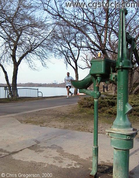 Lake Harriet Water Fountain Pump