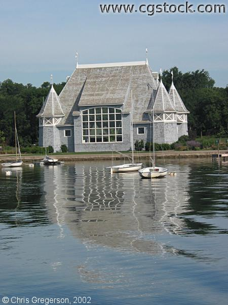 Lake Harriet Bandshell from on the Lake