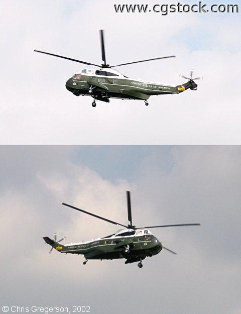 Marine One Helicopter (Sikorsky VH-3D)