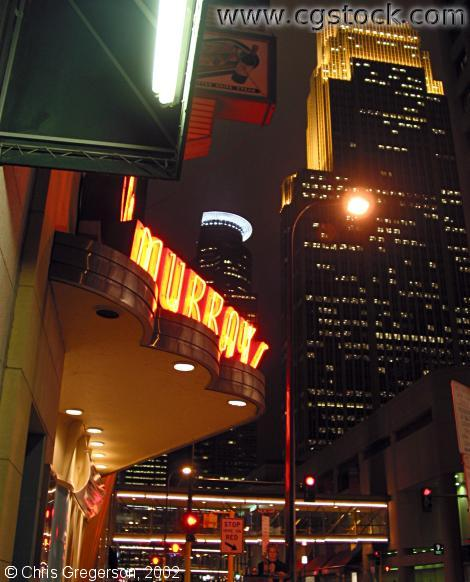 Murray's Restaurant at Night