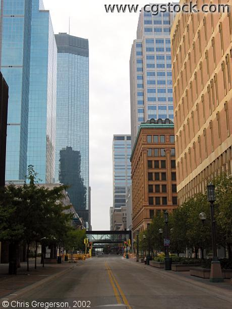 Nicollet Mall from 4th Street