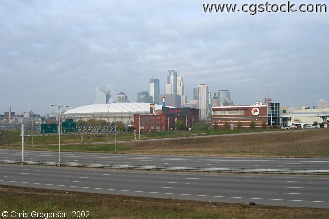 35W, Skyline, and Metrodome