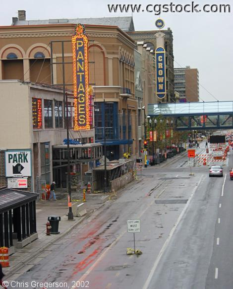 Pantages Theater, Hennepin and 7th